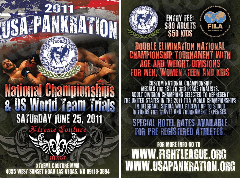 2011 USAFPA USA PANKRATION TEAM TRIALS