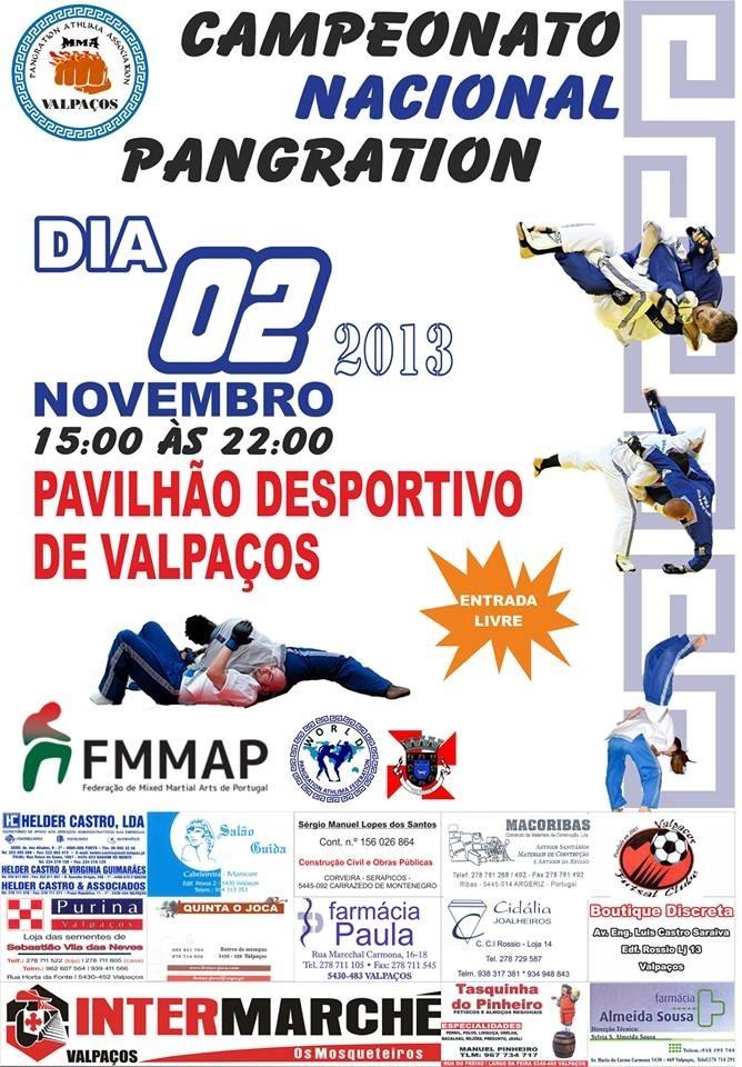 2012 Campeomato Nacional Pangration