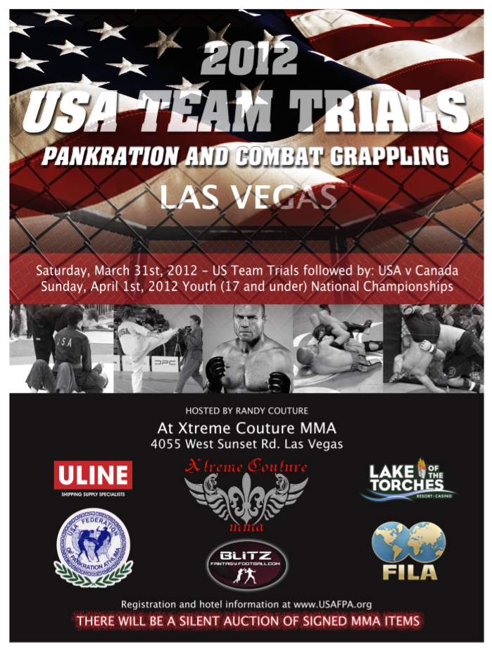2012 USAFPA USA PANKRATION TEAM TRIALS