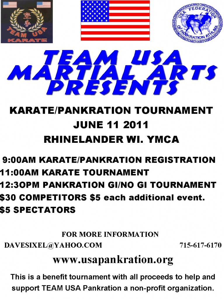 Pankration Karate Tournament 06-11-11