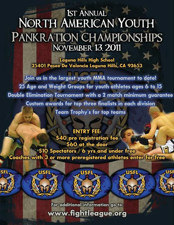 North American Youth Pankration Championships