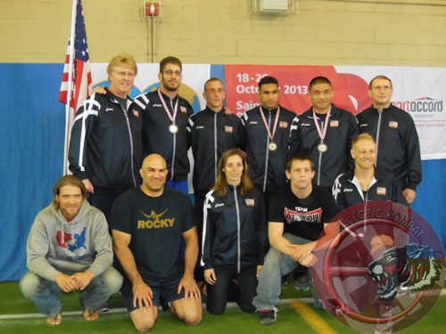 FILA GRAPPLING WORLDS 2013 TEAM USA