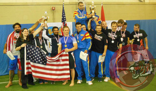 FILA PANKRATION WORLDS 2013, TEAM USA WINS SILVER